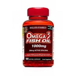 Olej Rybi Omega-3 1000 mg dla Pescowegetarian 100 Kapsułek Żelowych