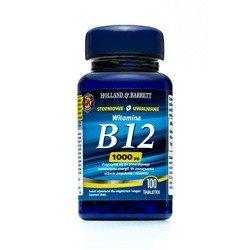 Witamina B12 o przedłużonym uwalnianiu 100 Tabletek 1000ug