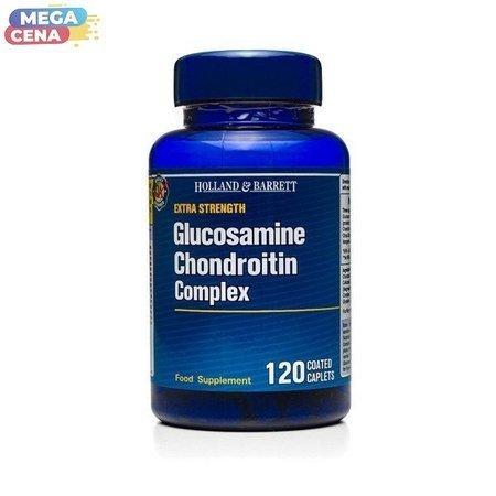 Ekstra Mocny Kompleks Glukozaminy i Chondroityny 120 Kapletek