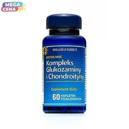 Ekstra Mocny Kompleks Glukozaminy i Chondroityny 60 Kapletek