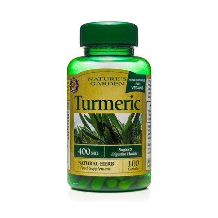 Kurkuma 400 mg Produkt Wegański 100 Kapsułek