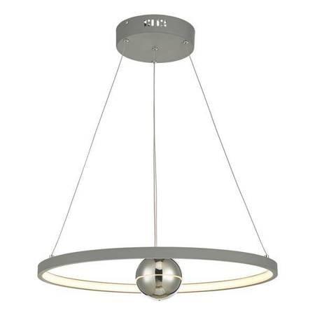 MERCURY 1LT Lampa Sufitowa HORIZONTAL Kolor Szary LED