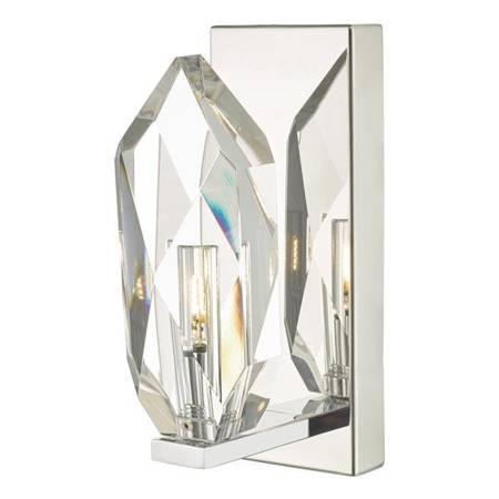 Motyw Kryształowy 1LT Lampa Ścienna Motyw Kryształowy LED