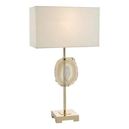 TAORMINA Lampa Stołowa AGATE/ FRENCH Kolor Złoty