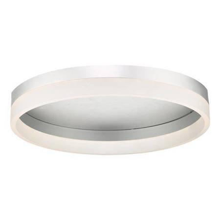 TYBALT Lampa Sufitowa Akrylowe Kolor Srebrny 40CM