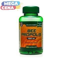 Propolis 1000 mg Produkt Wegetariański 100 Kapsułek